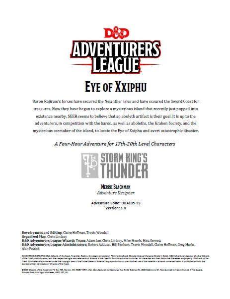 Eye of Xxiphu