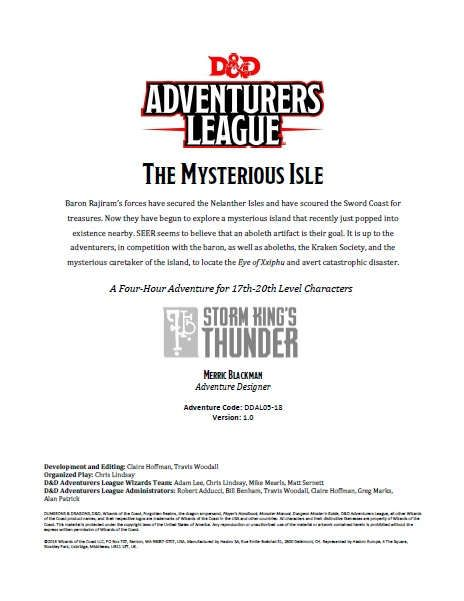 The Mysterious Isle